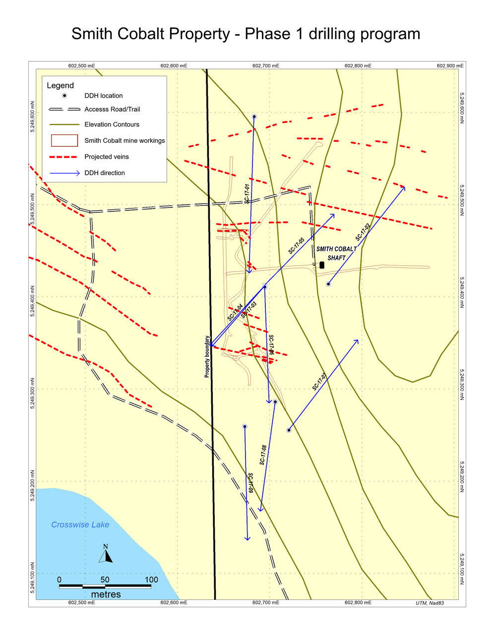phase 1 drill map