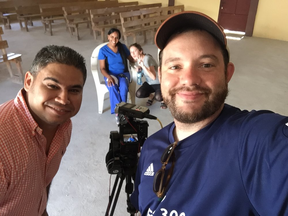 Alfredo, Brian and Annie interview Wendys in the old clinic for our video coming soon.