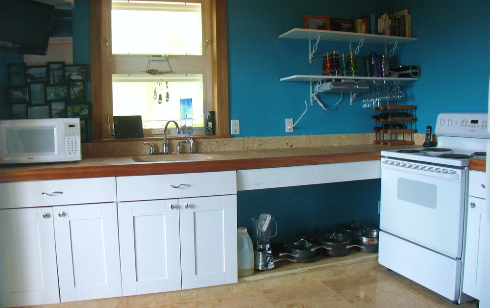 Kitchen Area in Pelican Beach
