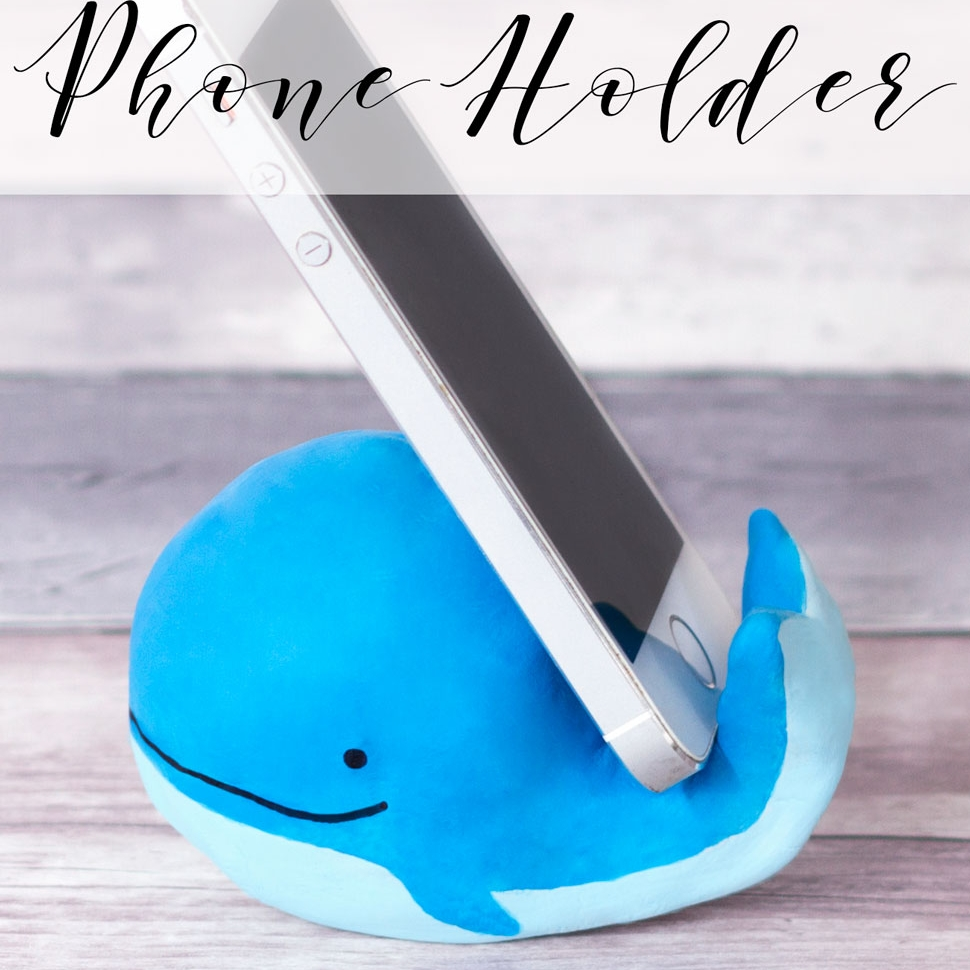 Whale Phone Holder Craft Doodle And Stitch