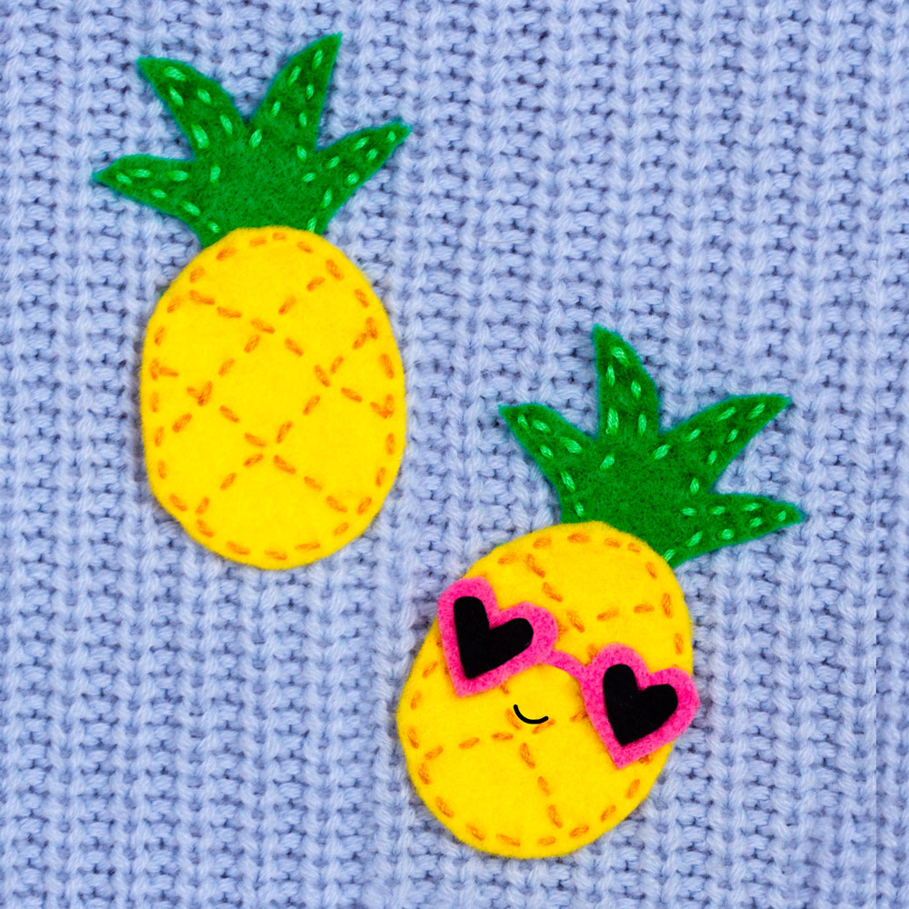 pineapple craft idea