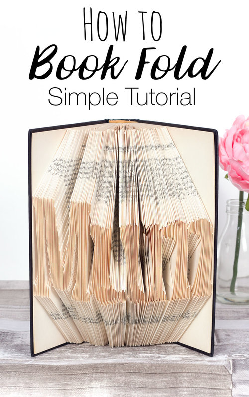 How to Book Fold - Simple Tutorial — Doodle and Stitch