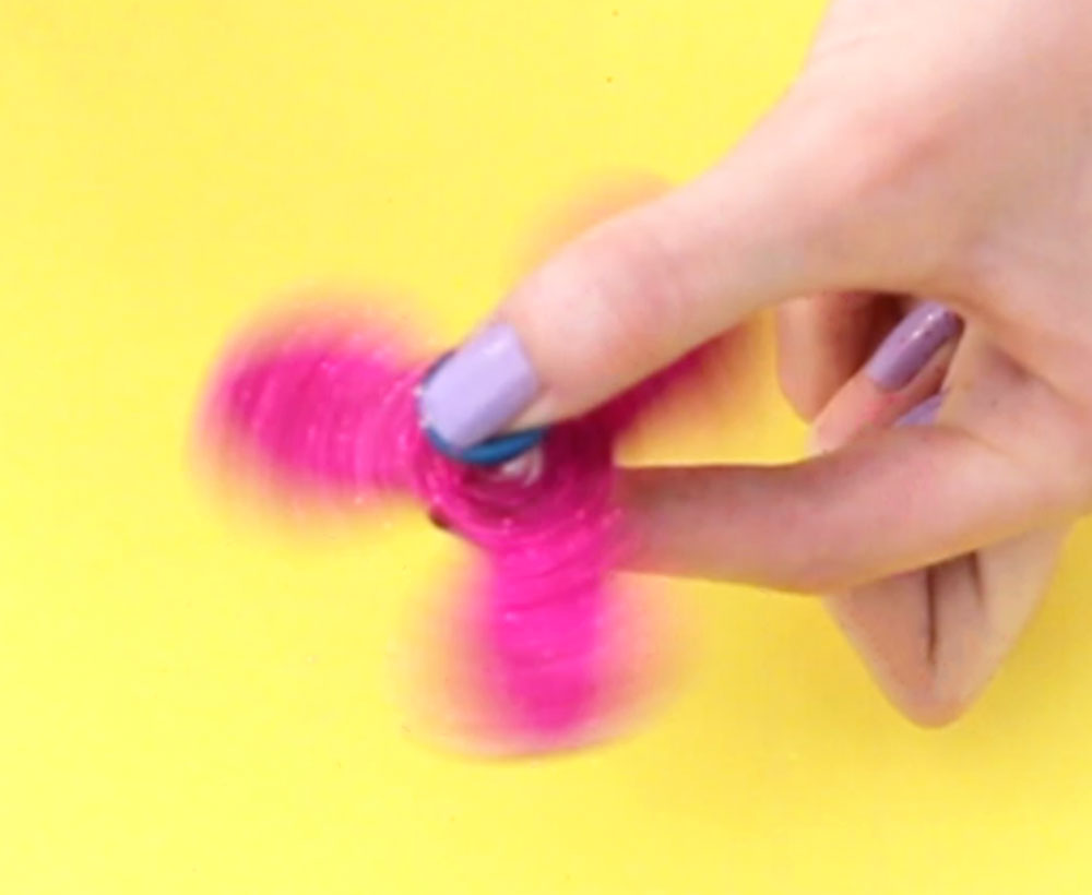 DIY Glitter Fidget Spinners — Doodle and Stitch