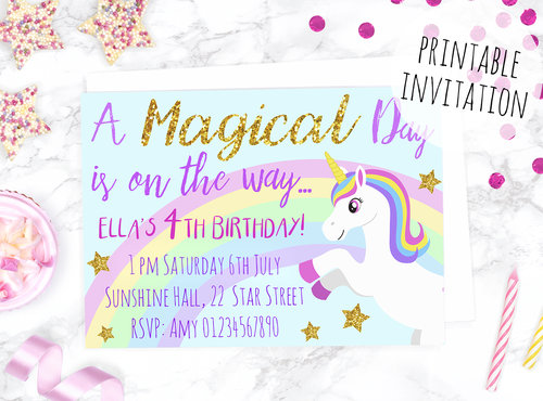 I Have Found 10 Fun Unicorn Themed Crafts That Would Make The Prettiest Party From Pinatas To Cakes There Is Everything You Need For Special Day