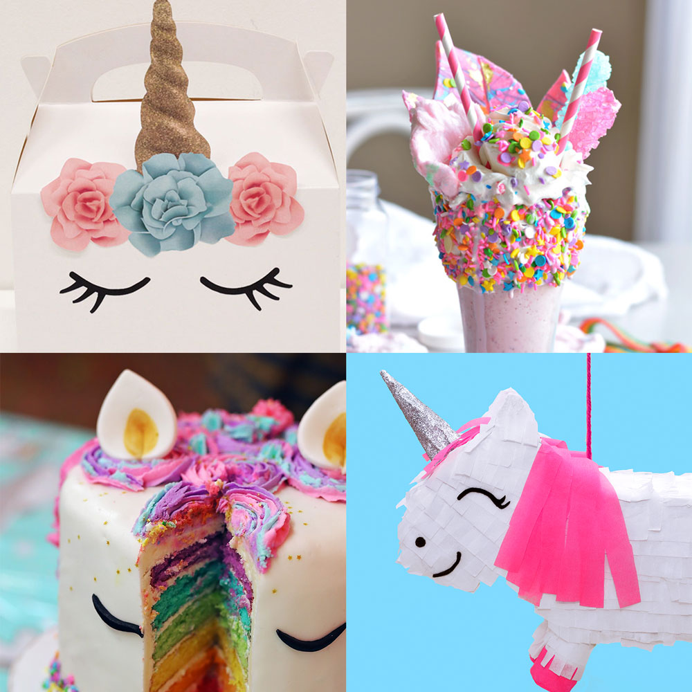 10 Diy Unicorn Party Ideas Doodle And Stitch
