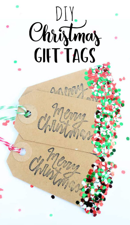 Christmas DIY Gift Tags — Doodle and Stitch