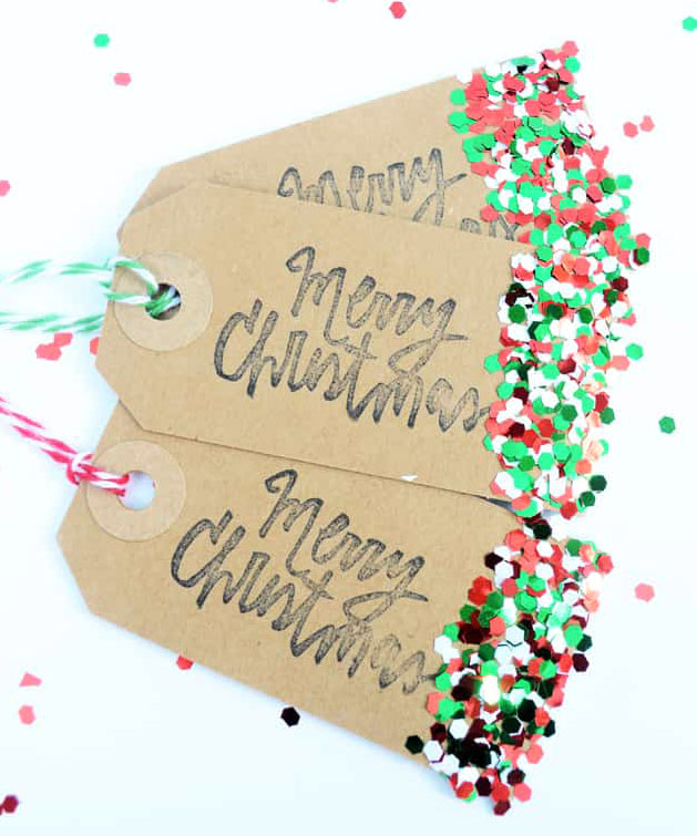 Christmas Diy Gift Tags Doodle And Stitch