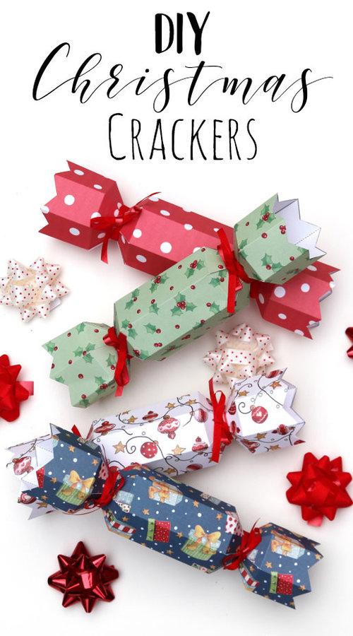diy christmas crackers free printable templatejpg - Diy Christmas Crackers