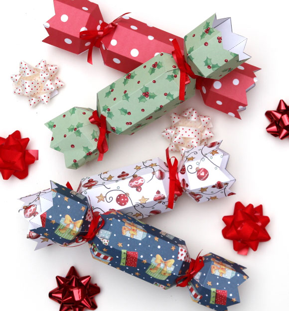 Diy Christmas Cracker Templates Doodle And Stitch