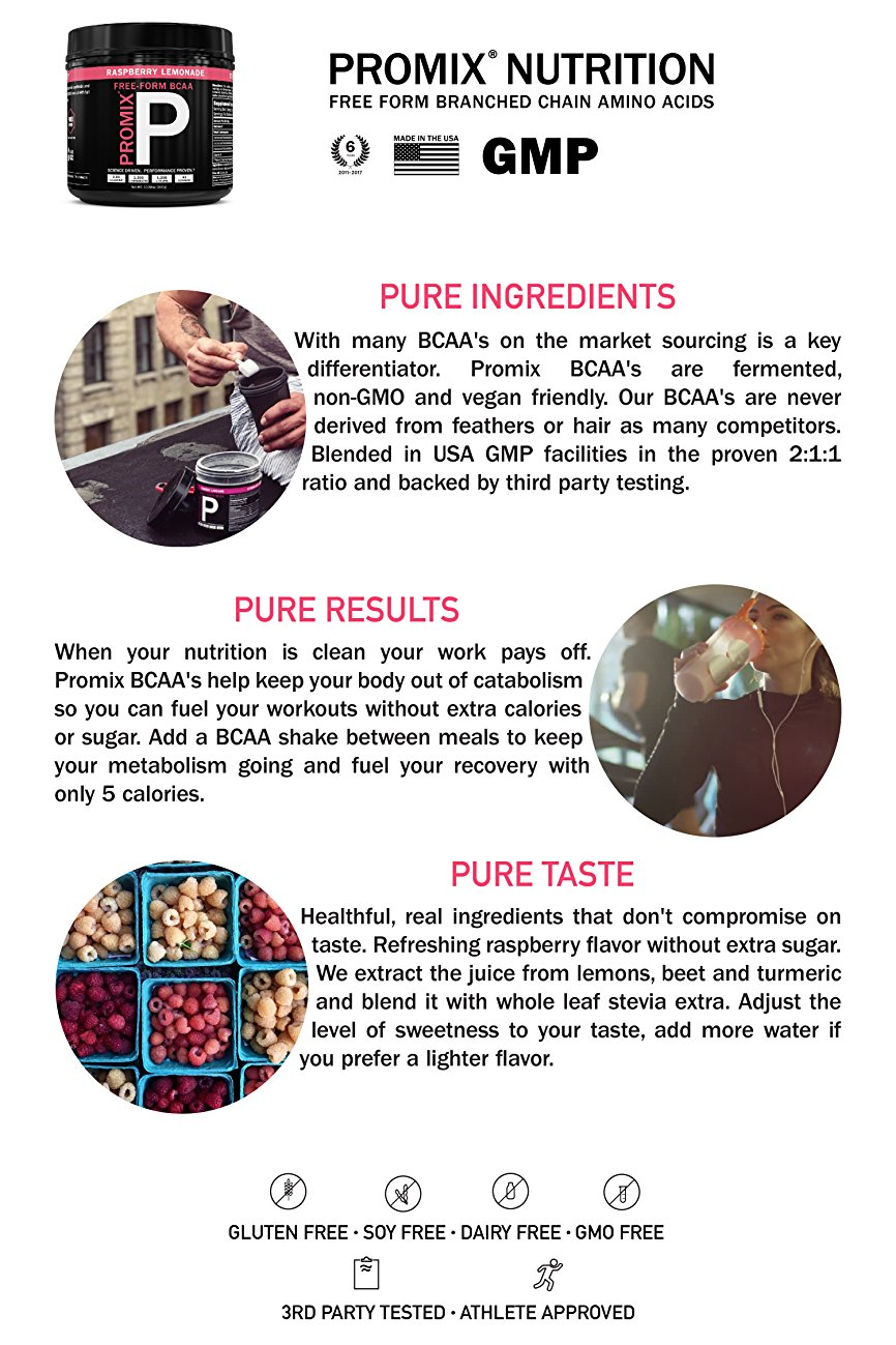 Promix Nutrition BCAAs