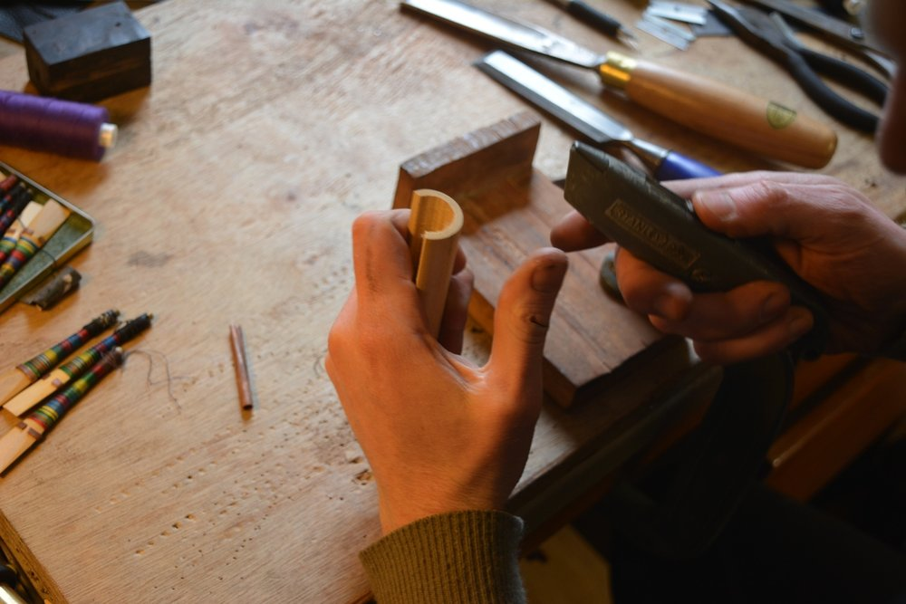 Up coming Reed making workshop Reed Making for Uilleann Pipes with Aaron O'Hagan Learn to make an Uilleann Pipe reed from start to finish with Belfast piper and pipe maker Aaron O'Hagan. Date: Wednesday 2nd August 2017 Time: 2pm Location: Ulster University, York Street