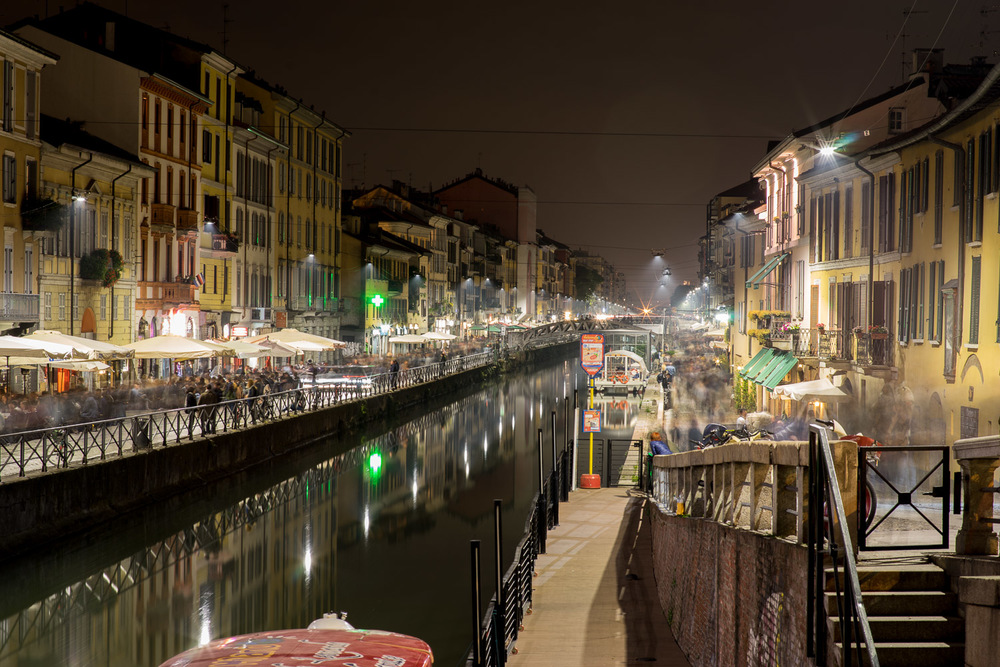 Every weekend, the Naviglio Grande is the beat heart of Milan's social scene.  Not more than 5 miles from Peschiera Borromeo, this is a world away for the men that await the decision of the authorities on whether they are allowed to stay in Italy.  For over 2 years, they wait in limbo.  Unable to study, work or travel, the men's inactivity coupled with traumatic journeys take a huge psychological toll.