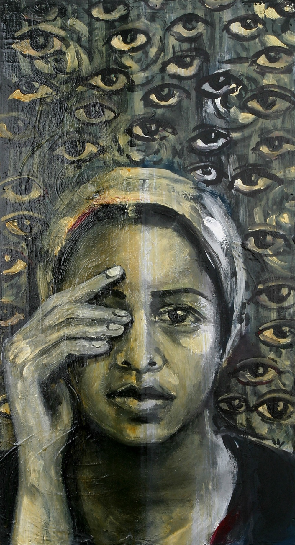 Neta Elkayam, Self Portrait as Baba-Sali, Biennale2013