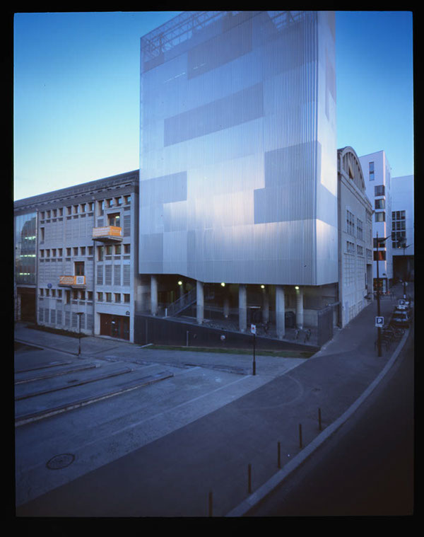 Photographie architecture industrielle universite Paris