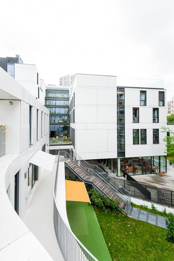 Rungis photographie architecture exterieur batiment creche EHPAD Paris