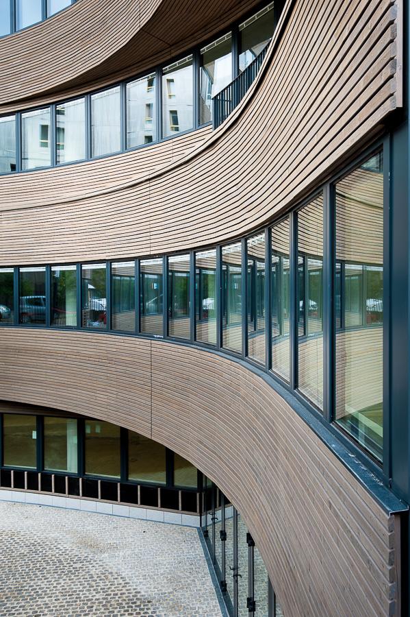 Rungis photographie architecture exterieure batiment HQE Paris