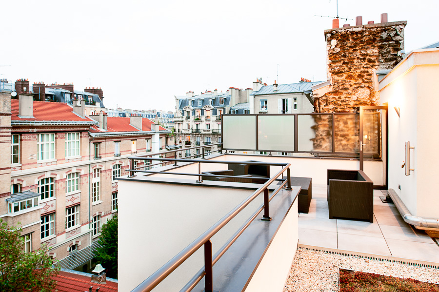 Aligre photo architecture amenagement terrasse appartement Paris