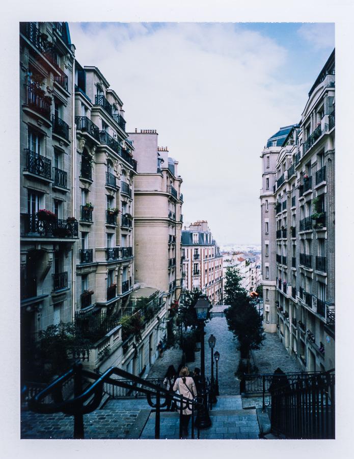 Chambre grand format photographie patrimoine Montmartre Paris