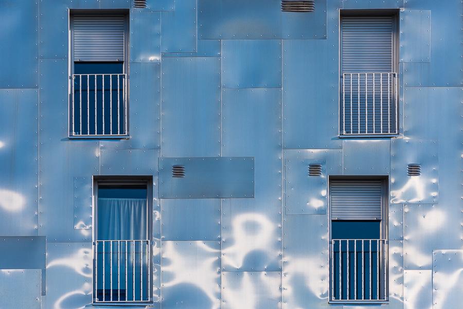 Photographie architecture exterieure materiau facade immeuble Paris