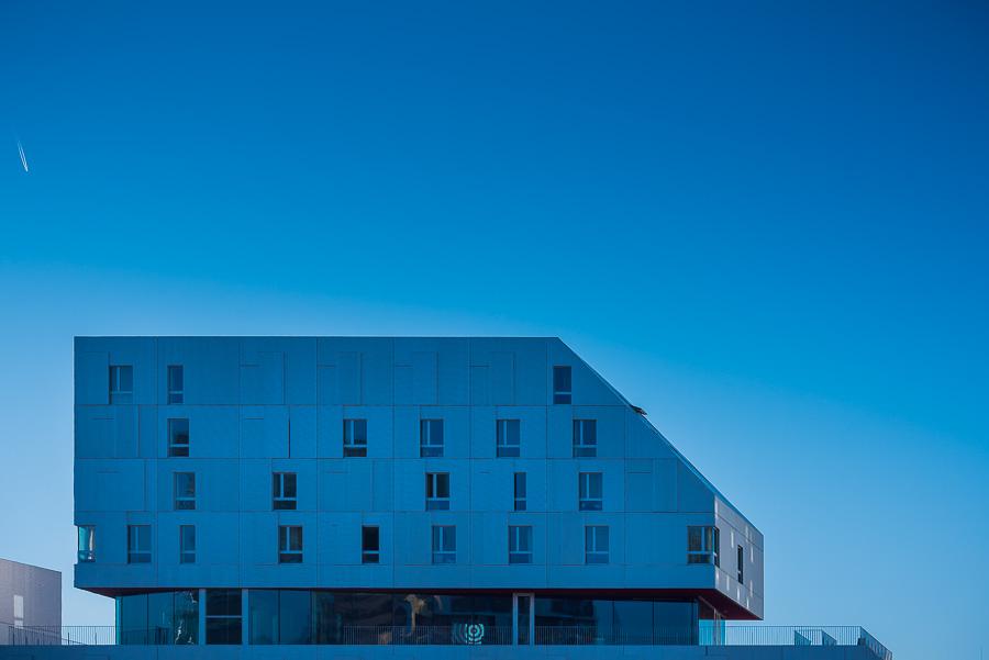 Photographie architecture exterieure batiment facade immeuble Paris