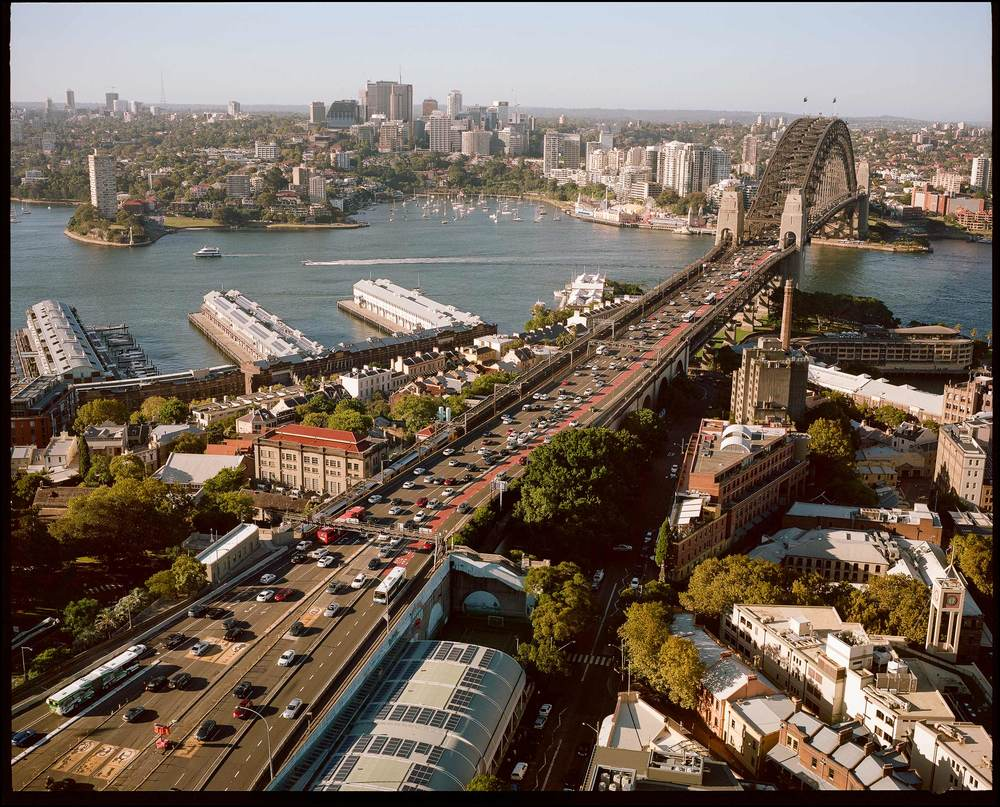 Sydney Harbour Bridge / View from Shangri-La Hotel / Cliff Englert ©