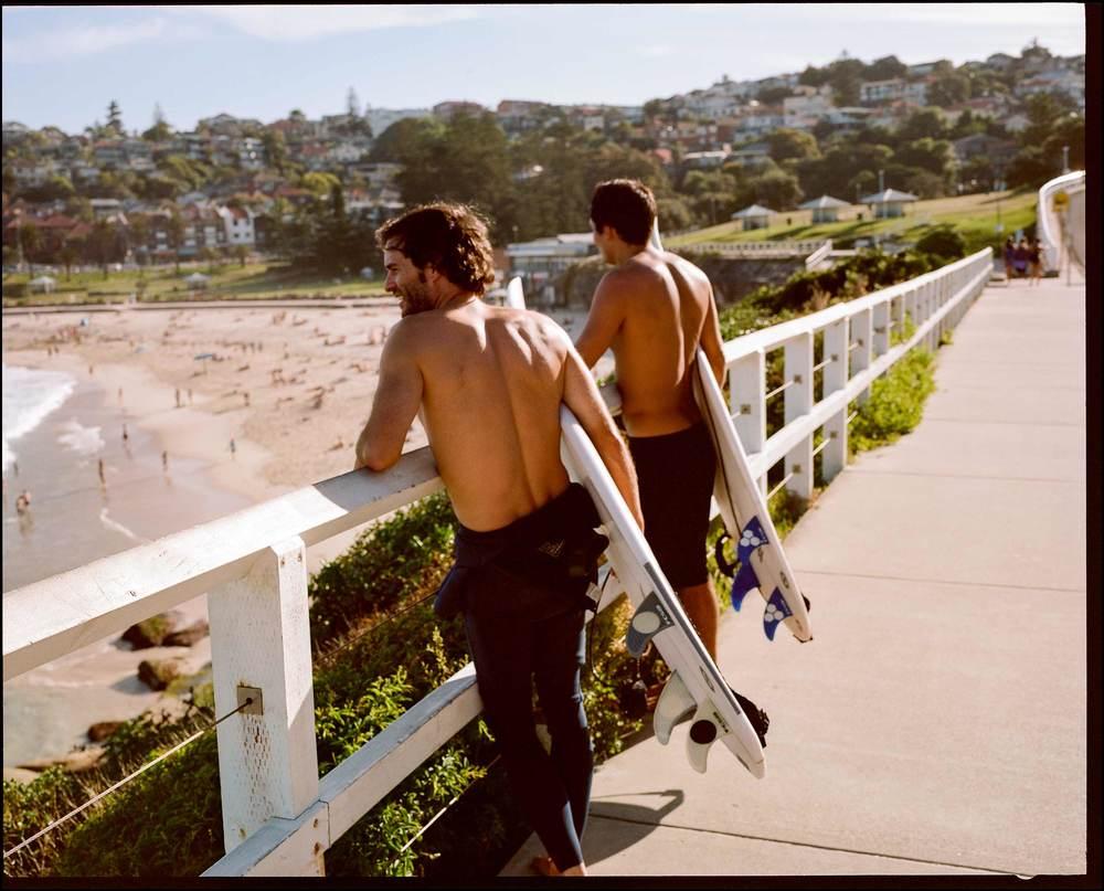 Surfer Blokes /Bronte Beach /Cliff Englert ©