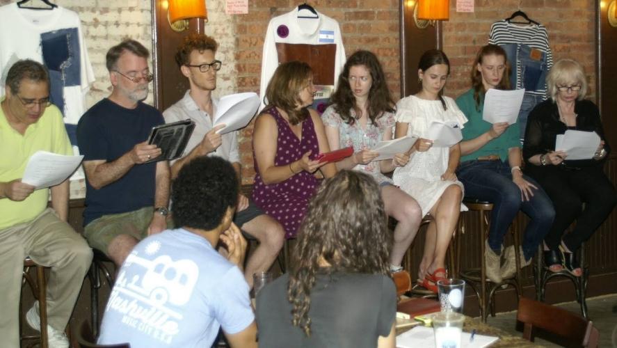 Faint Echoes by Natalie Neckyfarow With David Michael Kirby, Katherine Puma, Leah Rabinowitz, Lily Fryburg, Paul Peglar, Robin Fusco