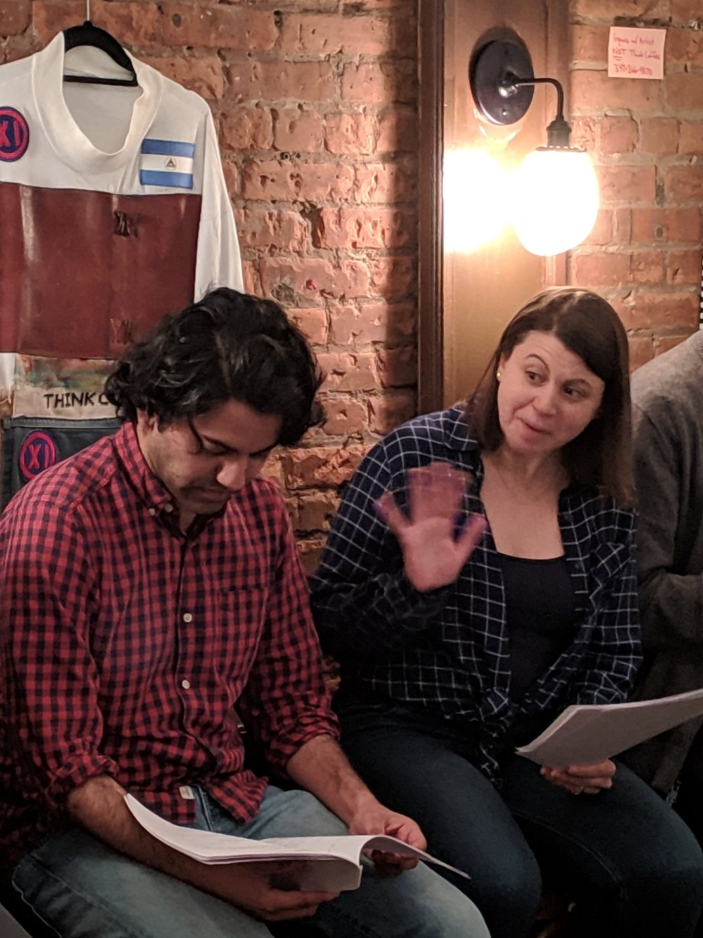 Domesticated Animals by Jona Tarlin  With: Imran Sheikh, Natalie Neckyfarow and Kyle Minshew (not pictured)