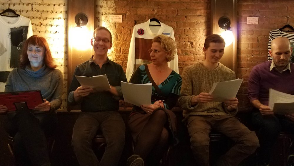 End of Summer by Laurel Lockhart, with Catherine Overfelt, Jimmy Moon, Amy Hayes and George Copeland, with stage directions read by Kyle Minshew