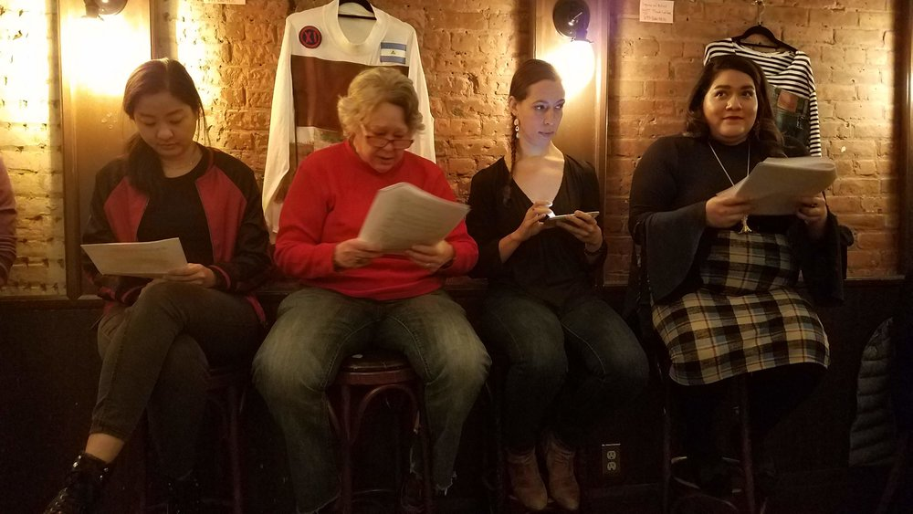 Legend of Suicide Jack by Noemi de la Puente, with Veronica Dang, Tracy Rosten, Marta Rymer, Alexandra Castro, and (not pictured) Kyle Minshew