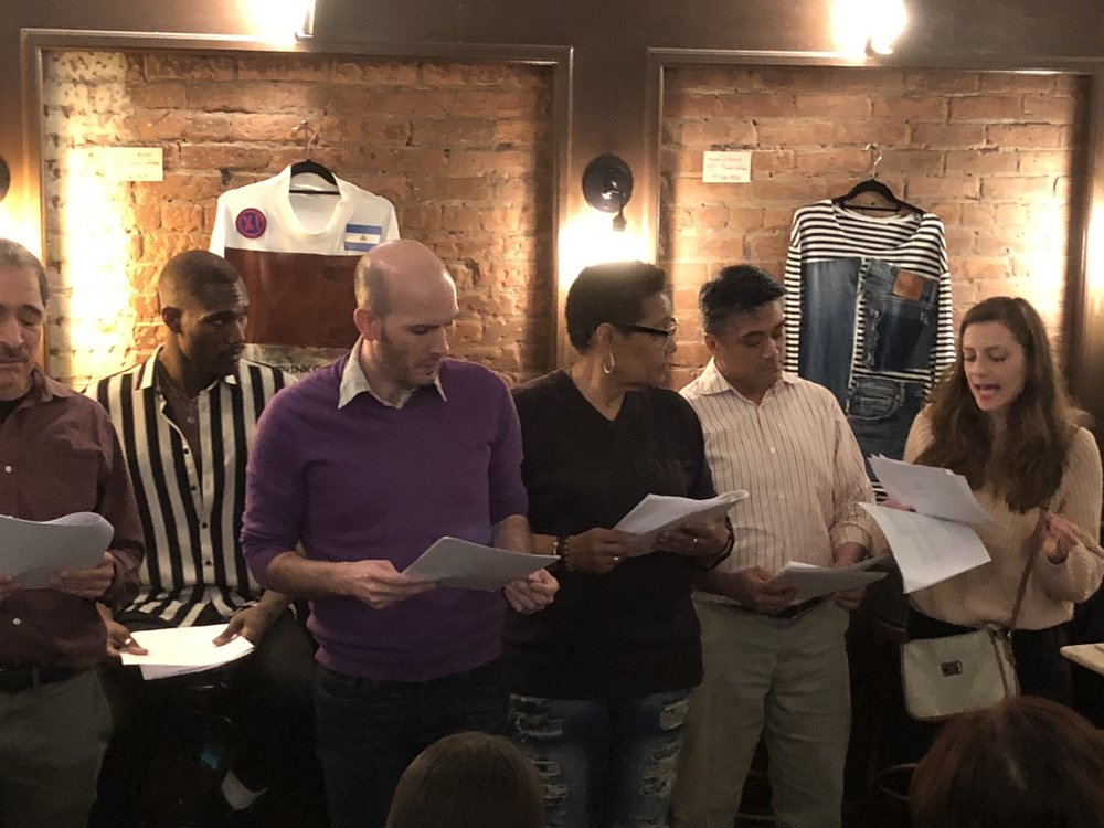 Stardust or the End of Pete by Leif Meneke, with George Pappas, Jordan Hall, Kyle Minshew, Chris Smith, Ariel Estrada and Marissa Schmidt