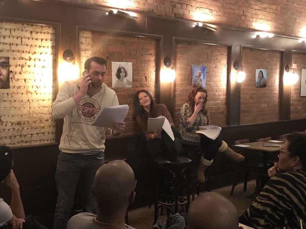 Tow Truck Play by Thomas Dieter   With Chase Naylor and Marie Eléna O'Brien (Rebecka Ray on stage directions)