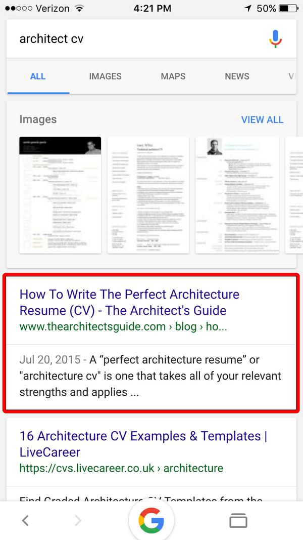 BrandonS Architecture Resume Cv Writing Service  The ArchitectS