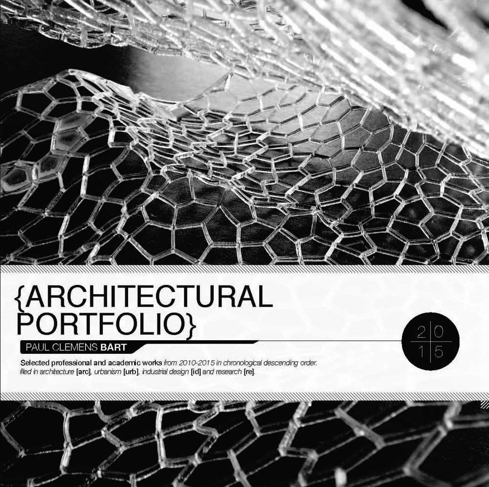 Paul Clemens Bart Architecture Portfolio. AADRL Design Research Lab | M.Arch