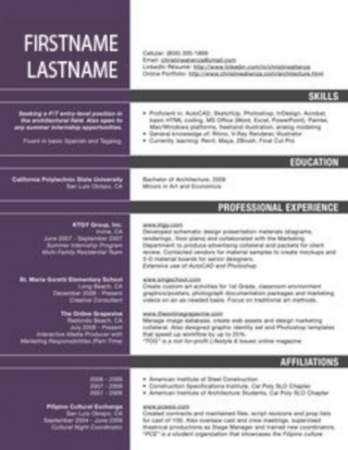 Mistakes That Will Destroy A Successful Architecture Resume Cv