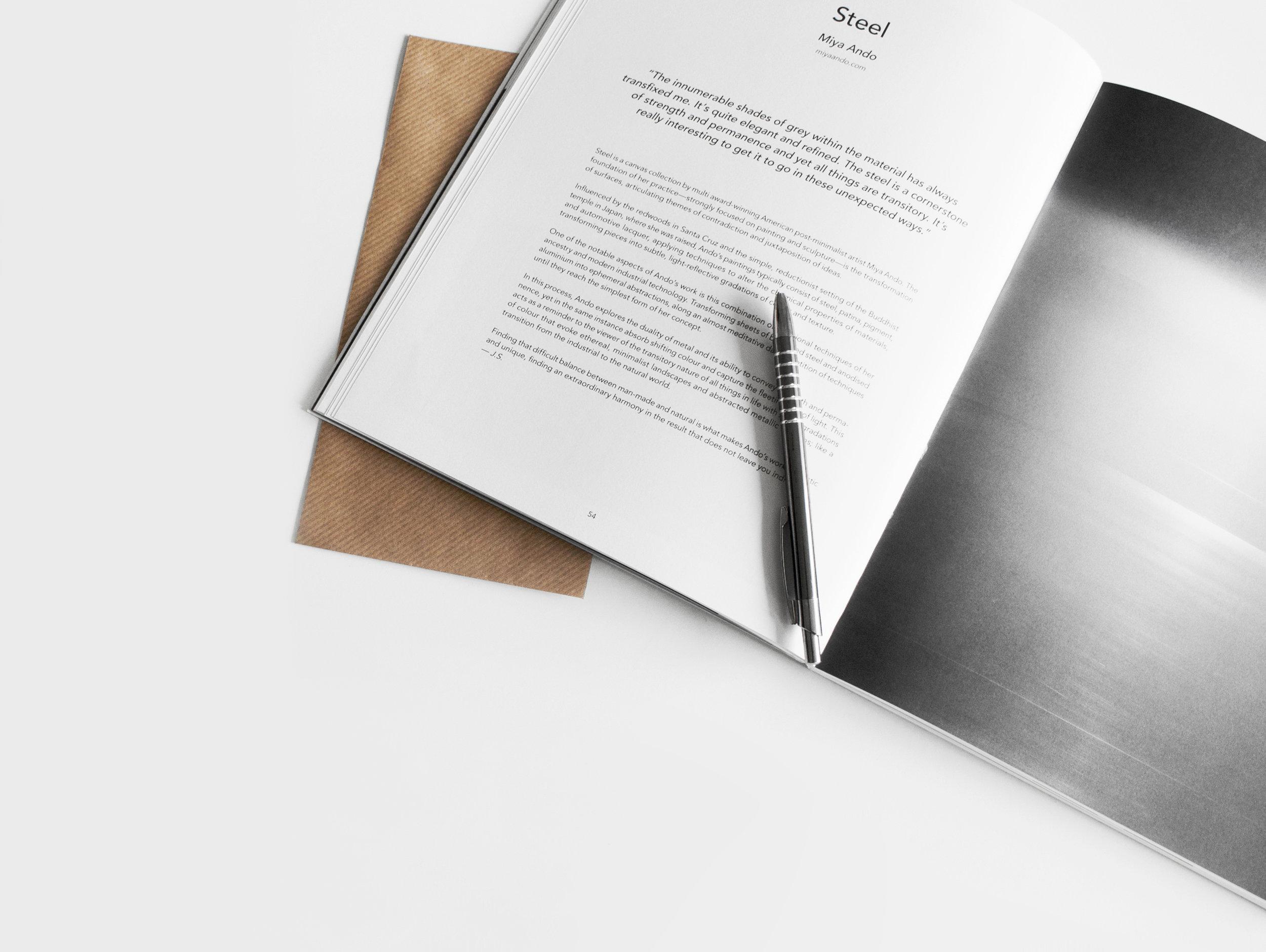 The Two Page Architecture Portfolio