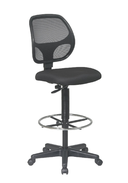 Beautiful Office Star Deluxe Mesh Back Drafting Chair