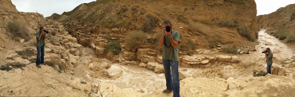 Desert Floods in Wadi Og, Israel 2016