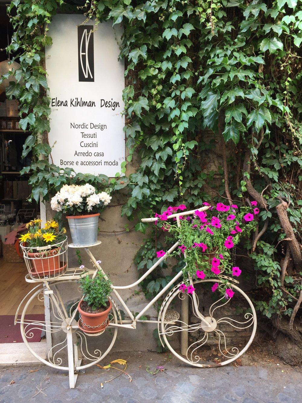 Italian Street  Decor -