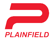 Plainfield Logo White on Red.png