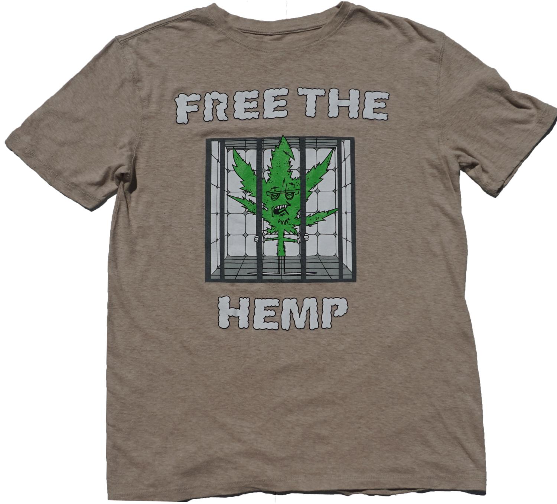 f45a0ab2 Free The Hemp Kings Hemp Tee — Keystone Kings