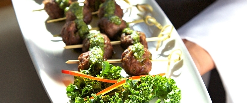 Spicy Lamb Meatballs