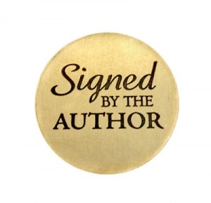 - Get it in ink: Signed copies of favorite authors books give readers a warm glow. BN.com, Amazon.com, https://www.abebooks.com/books/inscribed-autographed-signature-collectible, and your local book seller can help you. Or contact authors directly via their websites. (For the stickers, go to: http://autographedbytheauthor.com)