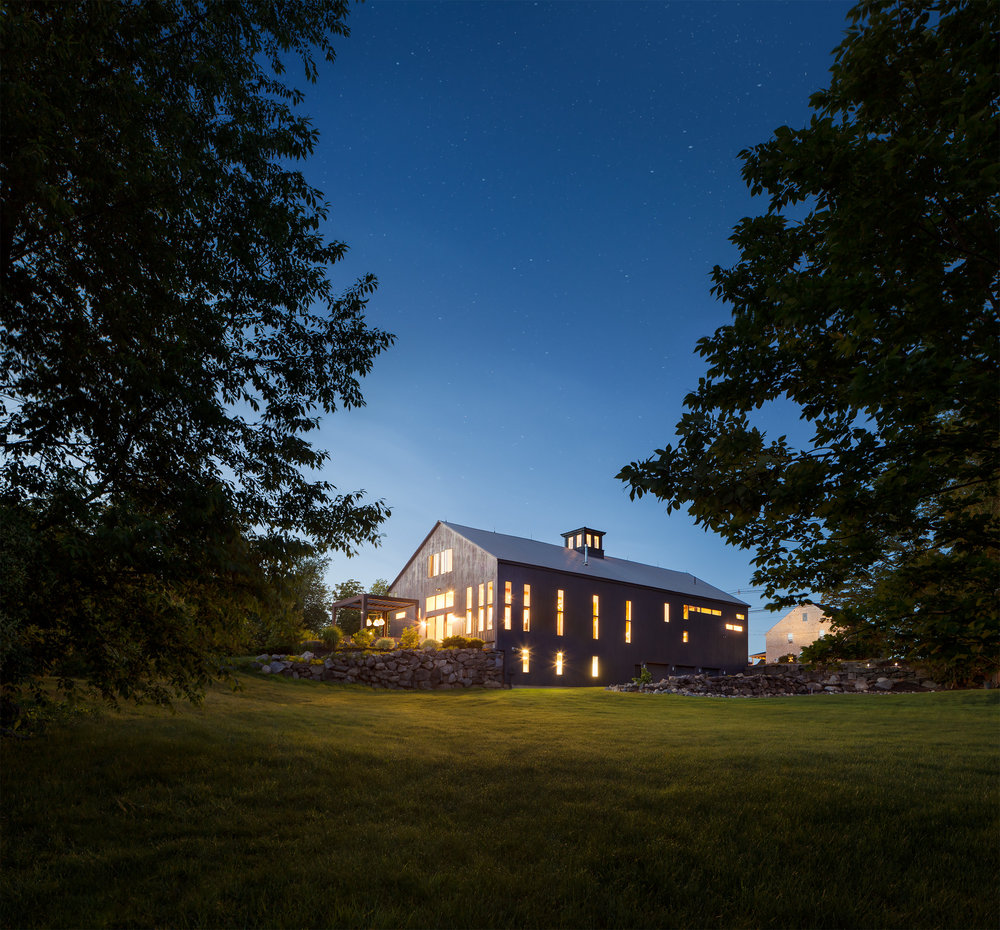 architectural photography exterior. Matthew Delphenich Boston Architectural Photography - Residential Exterior Rural Barn T
