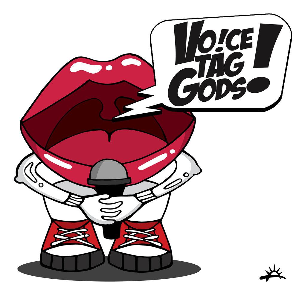 Voice Tag Gods 2K19 BW.jpg