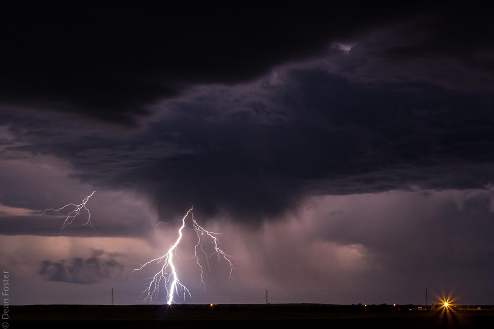 Rural Alberta Storm