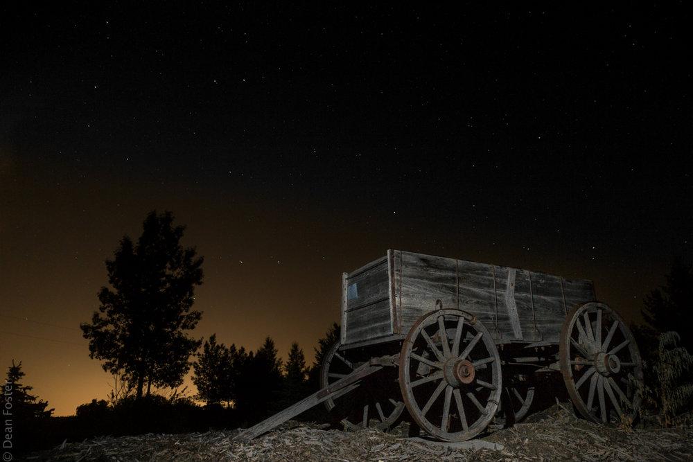 Wagon Relic, near Calgary, Alberta
