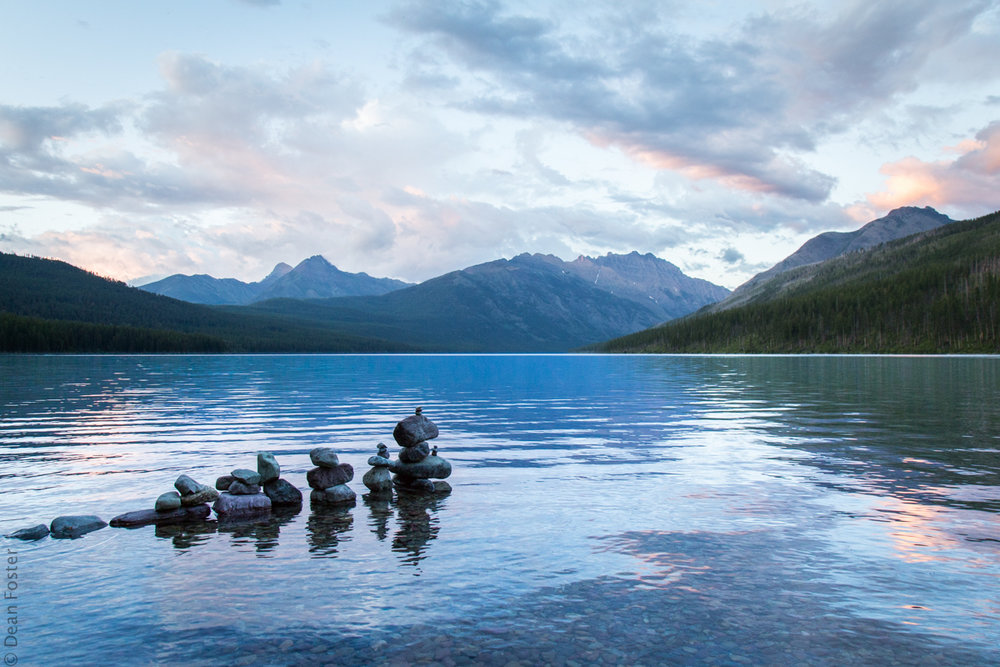 Kintla Lake, Glacier National Park, Montana