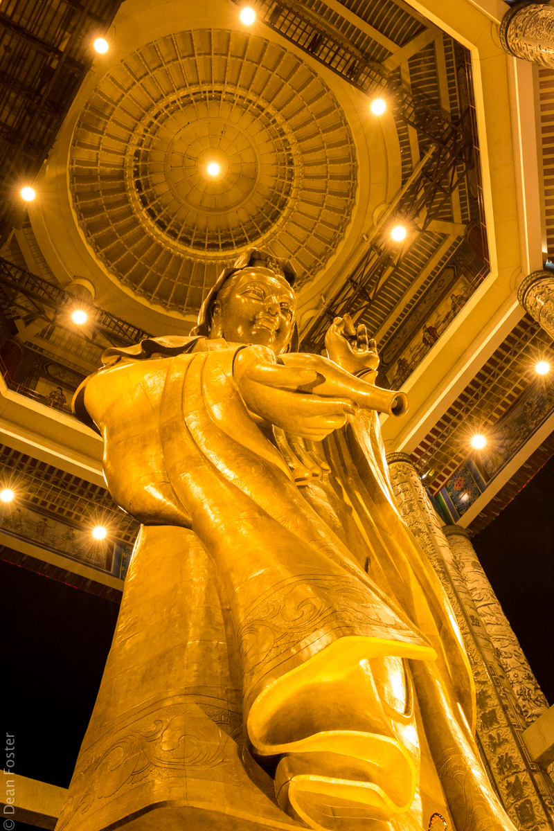 Goddess of Mercy - A 30m tall statue of Kuan Yin (Goddess of Mercy) at the Kek Lok Si Buddhist Temple