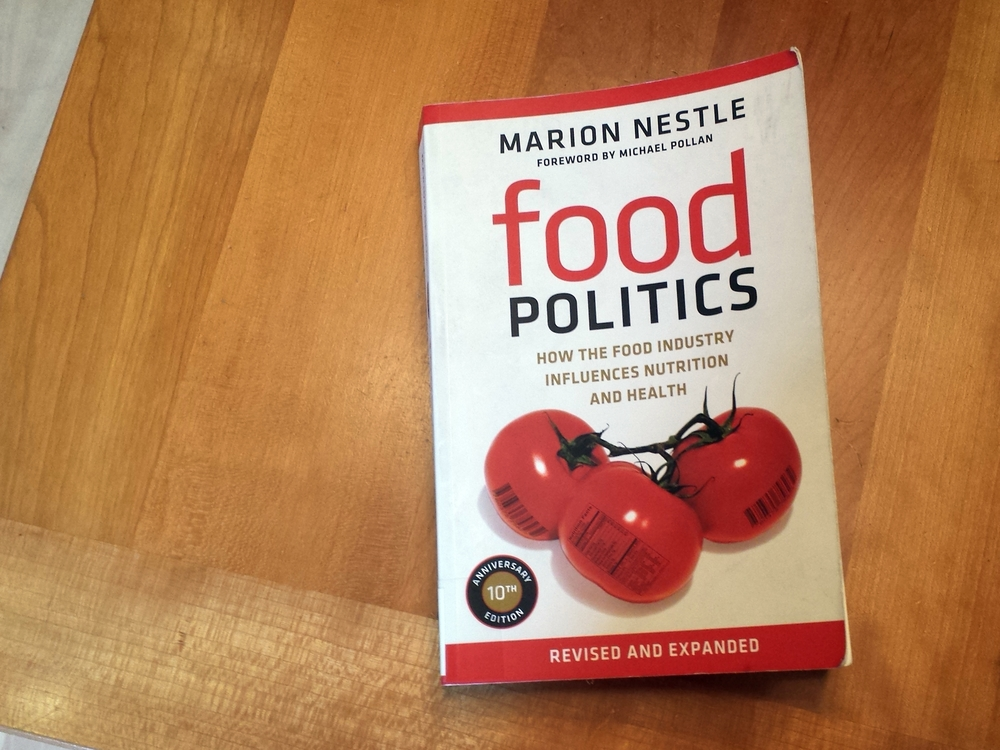 Marion Nestle's Food Politics Book